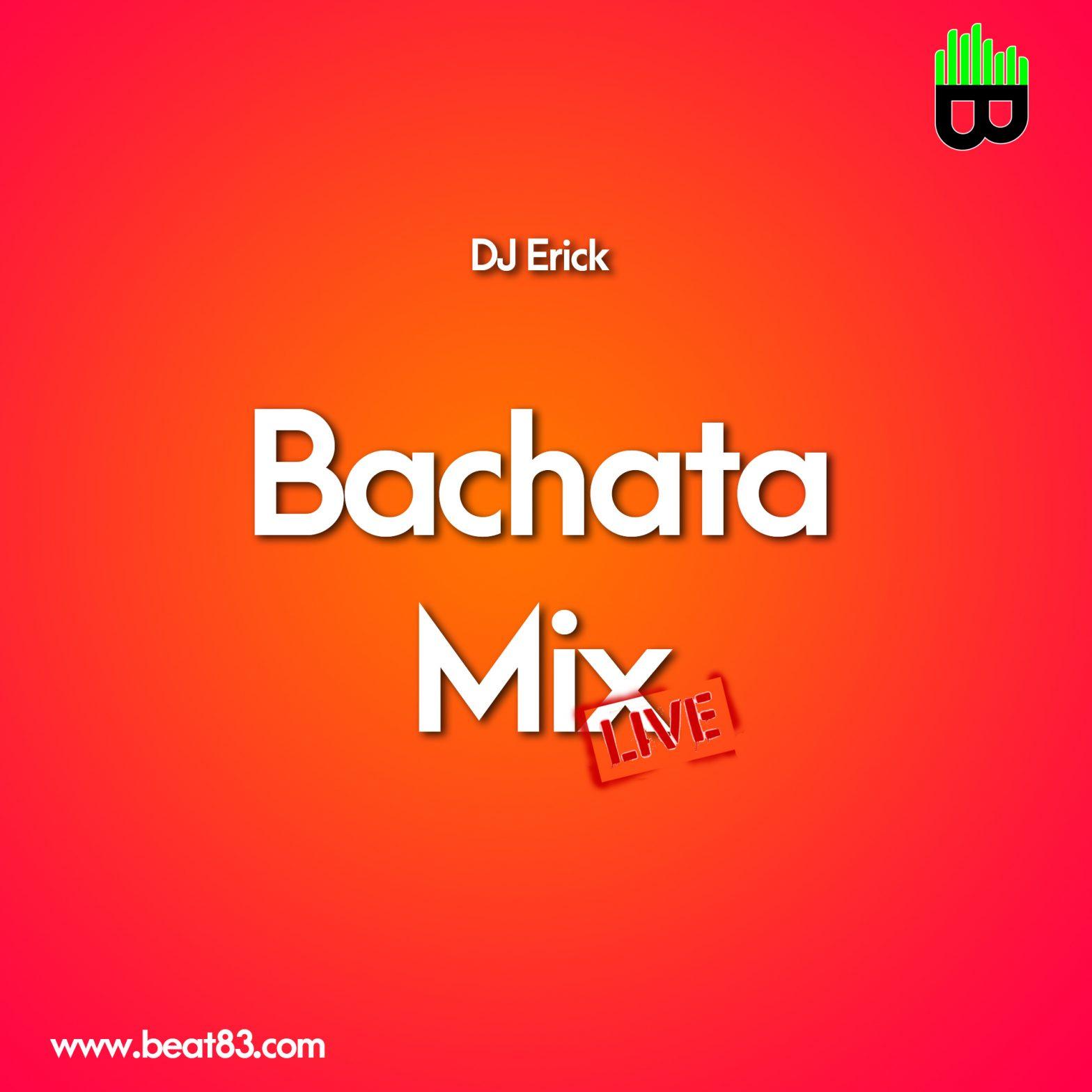 bachata mix live cover art